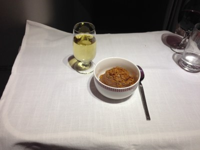 iberia business class meal