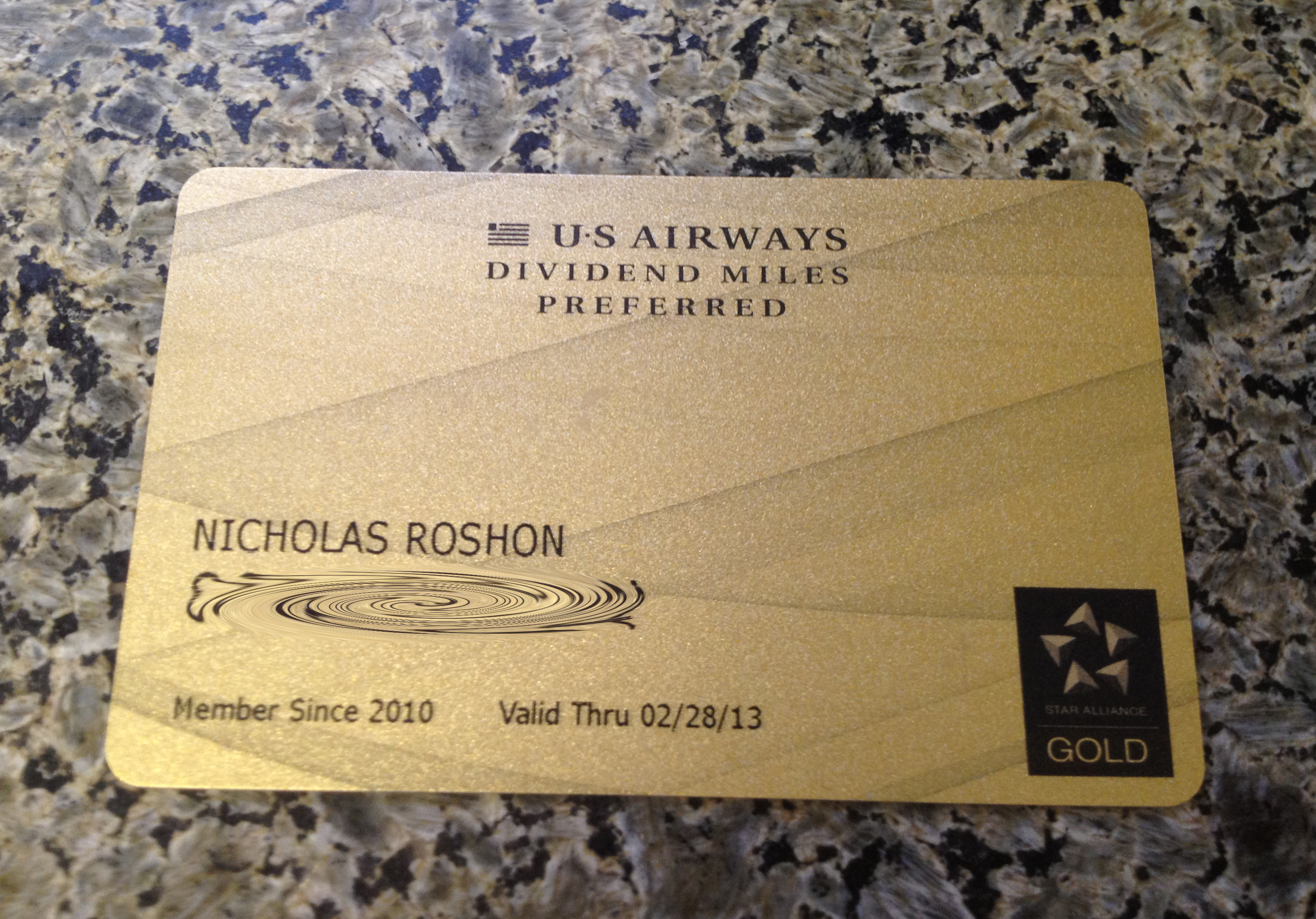 How I got US Airways Gold Preferred...in 2 1/2 months.