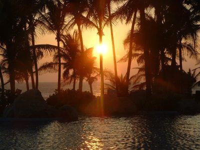 acapulco sunset