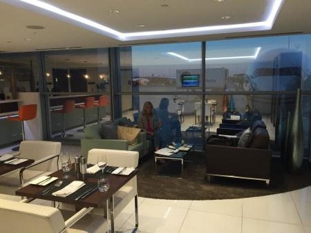 washington dc iad airport etihad lounge first business class review