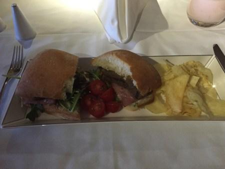 etihad first class 777 washington dc abu dhabi iad auh flight review seat wifi steak sandwich