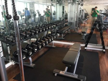 park hyatt washington DC gym
