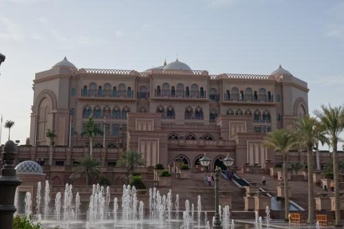 park hyatt abu dhabi pool beach camels dune bashing tour emirates palace high tea sheikh zayed grand mosque