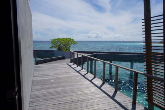 park hyatt maldives review hotel over water park villa bungalow private diamond snorkeling reef