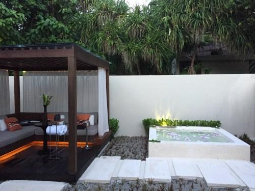 massage spa sunset hotel review park hyatt maldives male beach resort luxury island overwater villa pool breakfast