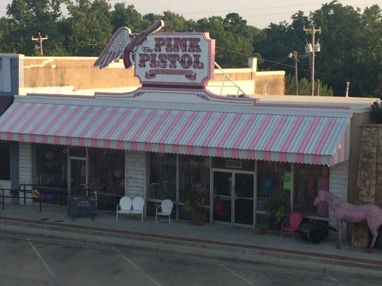 blake shelton miranda lambert OKC ATL Tishomingo Oklahoma City ladysmith bed and breakfast pink pistol