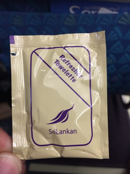 SriLankan Airlines MLE-CMB
