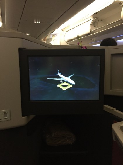 Cathay Pacific Business Class CMB-HKG