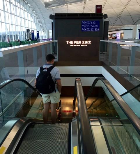 The Pier First Class Lounge Hong Kong