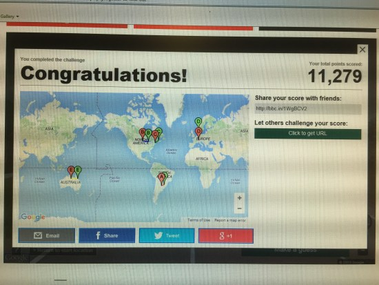 bbc geoguesser do you know about the world