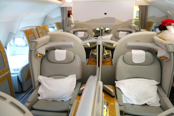 great first class business class fares prices new york washington dc emirates etihad Johannesburg south africa