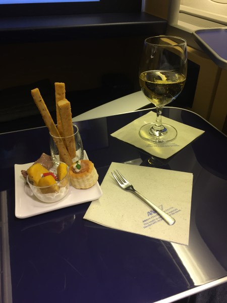 ANA First Class ORD-HND