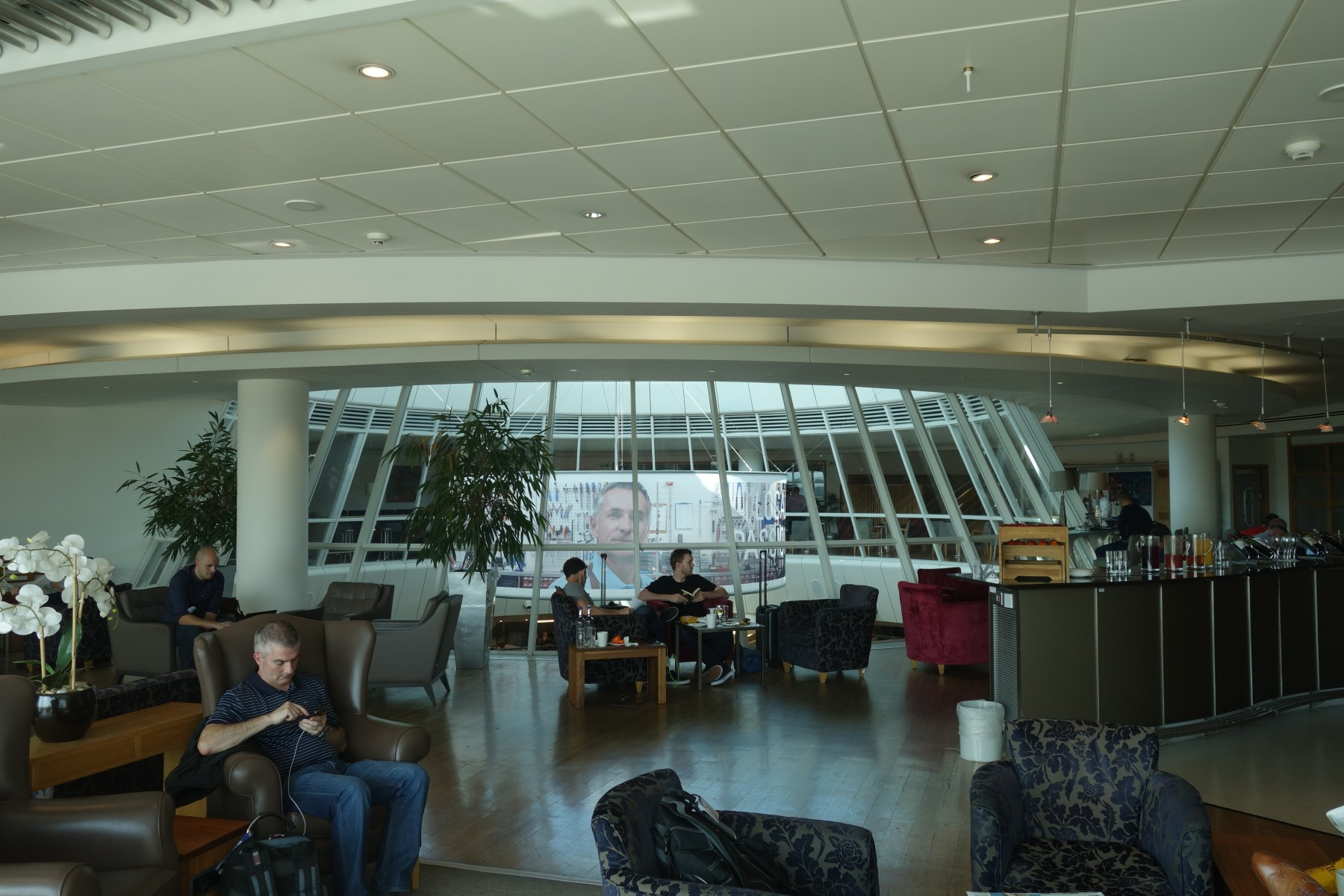 Lounge Review British Airways Terraces Lounge Manchester