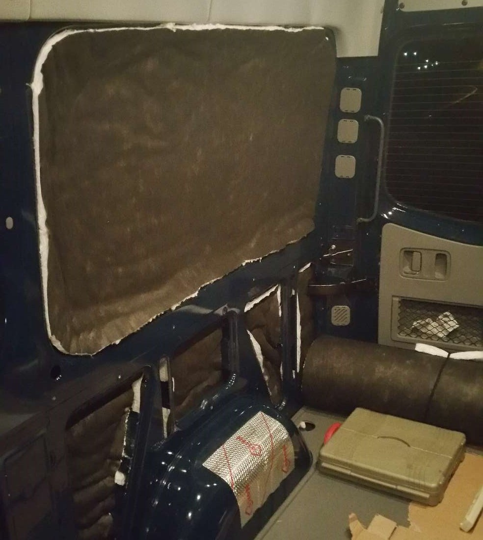 Sprinter Adventure Van Build - Sound Deadening & Insulation