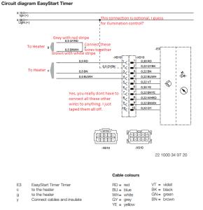 espar - easy start wiring annotation