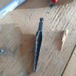 Metric step drill bit