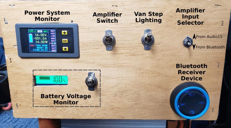 Points Unknown - Sprinter Van Upgrade - In House Bluetooth Music Setup