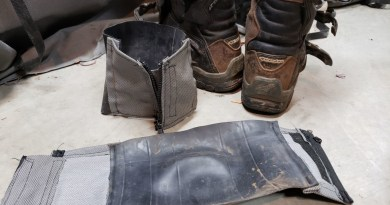 Motorcycle Boot Gaiters / Moto Pant Cuff Protector