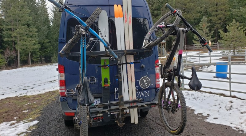 Points Unknown - Vertical Ski Mount and Bike Rack