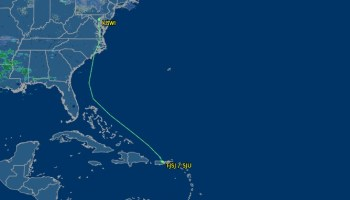 Tracking flight path - seeing the path your plane takes ...