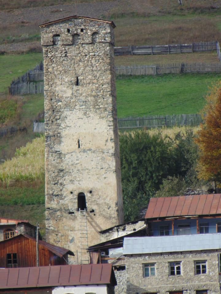 In the Caucasus Mountains, clans used these towers to defend themselves against marauders. Though Georgia has been sacked many times, the mountain communities have maintained their unique culture.