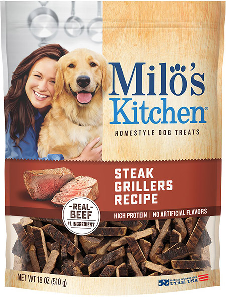 recalled Milo's steak treats