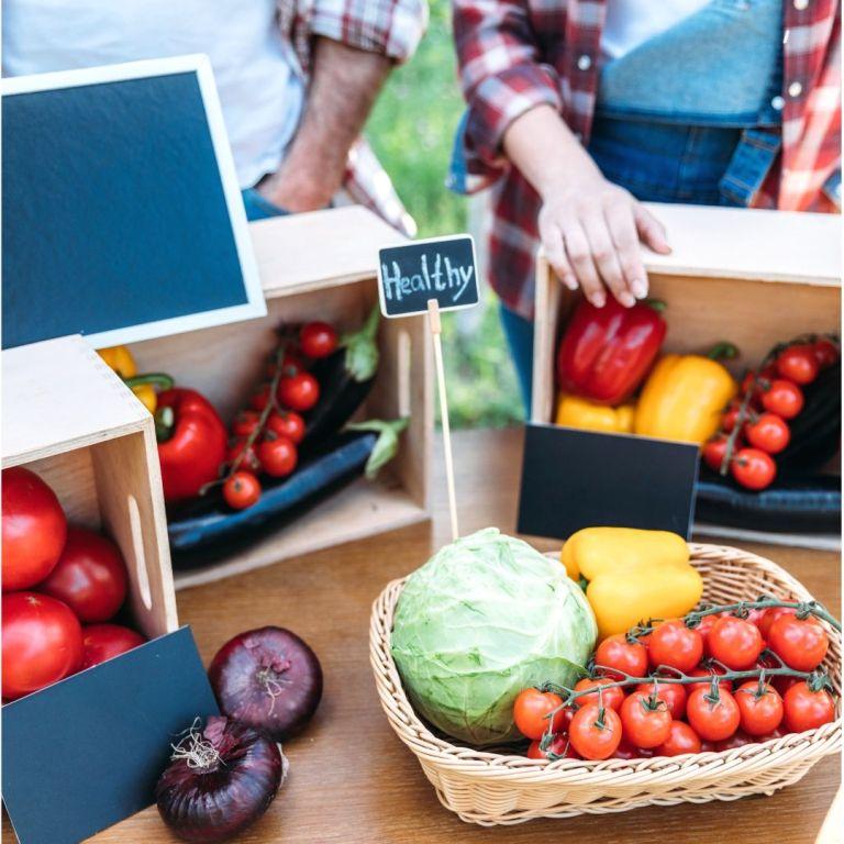 manger BIO alimentation saine végétarienne zero dechet vrac courses enfant parent famille vrac