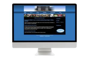 Oude Joomla website Autoschade Beilen