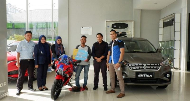 Pemenang Undian Test Drive Suzuki Ertiga