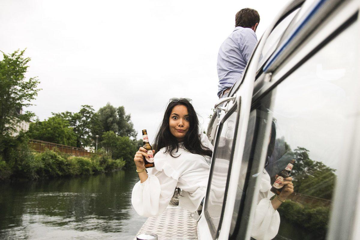 Contre-Temps et Pokaa sont sur un bateau...