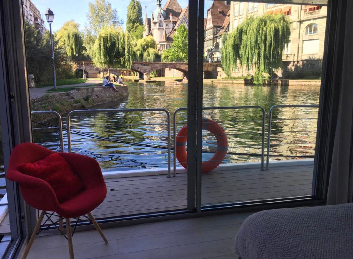 Strasbourg : On connaît enfin le prix des curieuses maisons flottantes