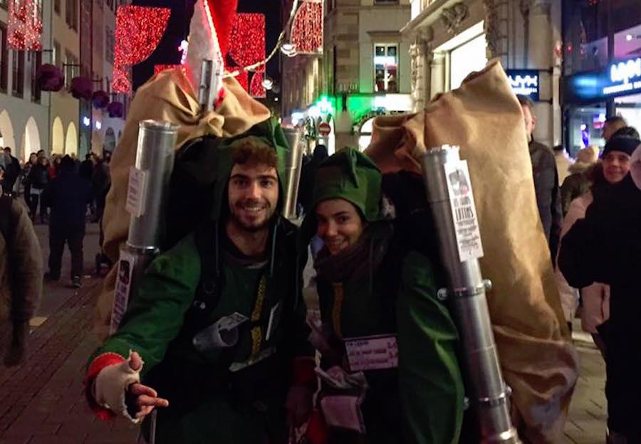 Strasbourg : des lutins à vin chaud aperçus dans les rues