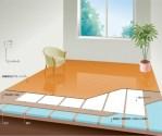 床暖房施工イメージ