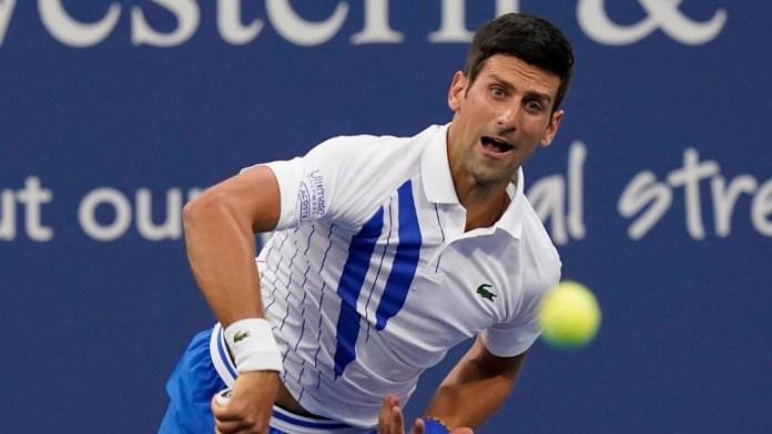 Novak Đpković, reket, loptica
