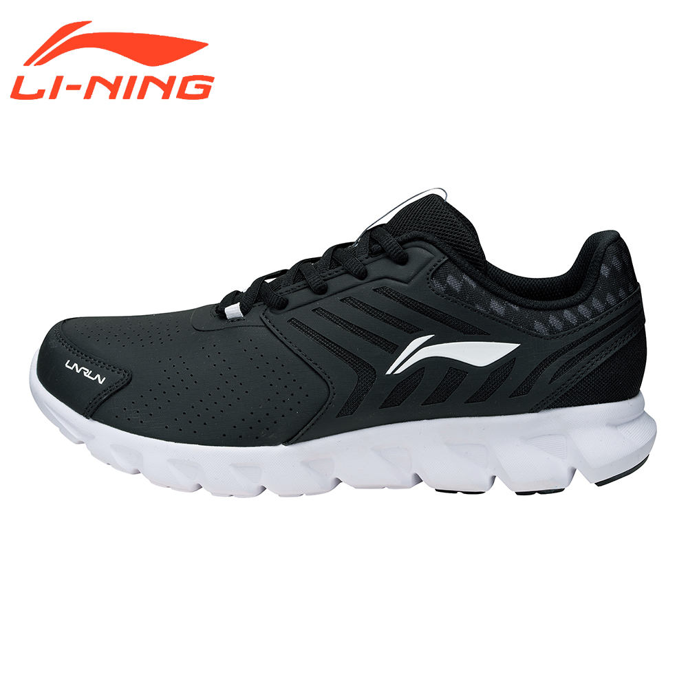 Фото Li-Ning Men's Cushion Running Shoes Sports Sneakers LiNing Arc Series Breathable Wearable Cushion Shoes ARHM023