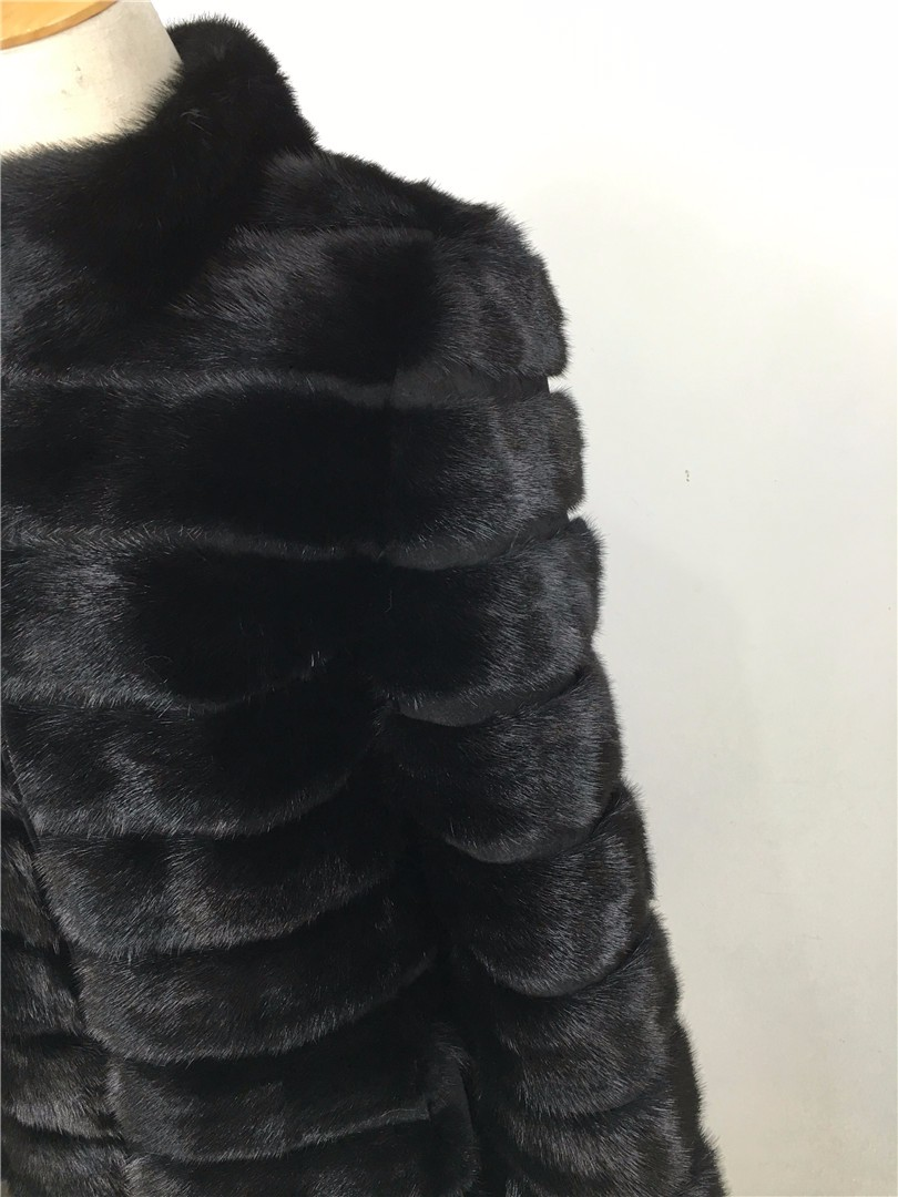Фото Coat for Women Natural Genuine Норковая шуба.