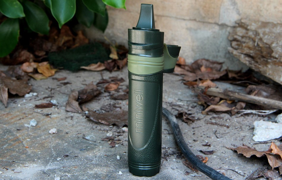 Фото Outdoor survival Camping equipment military mini water filter portable outdoor water straw filter