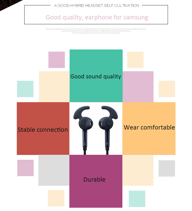 Фото SAMSUNG Earphone EG920 Headsets Wired with Microphone for Samsung S6 S7 S7edge S8 Android Phones Sport In ear Earphones ecouteur