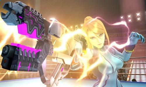 Super Smash Bros WiiU Amp 3DS Gt Samus Sans Armure Pokbipcom