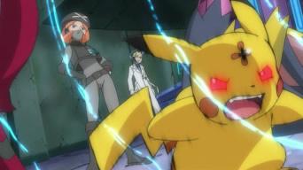 Pikachu sous contrôle de la Team Plasma !