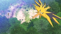 Electhor survolant la Forêt de Jade.