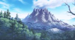Le Mont Abrupt, paisible de l'extérieur.