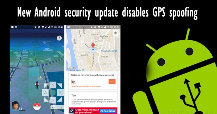 Disables GPS spoofing