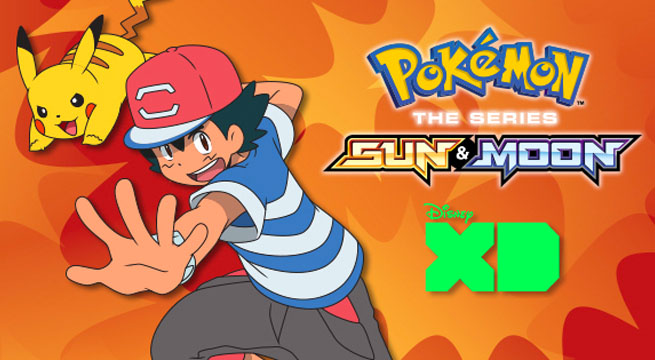 Pokemon sun moon Anime