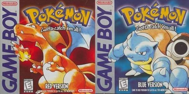 Generation 1 (Red, Green, Blue and Yellow)