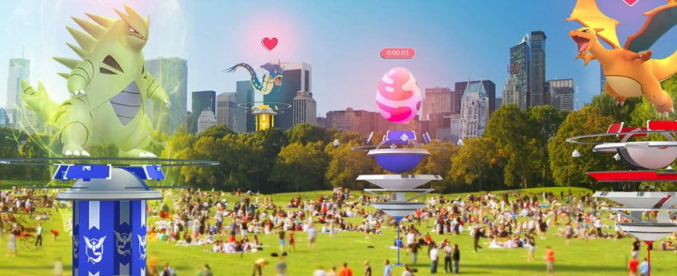 Pokemon Go big summer update adds cooperative raids and redesigned gyms