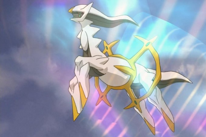 Is Arceus the reason we all actually exist