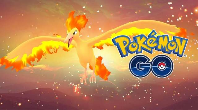 Pokemon GO Moltres First spawn