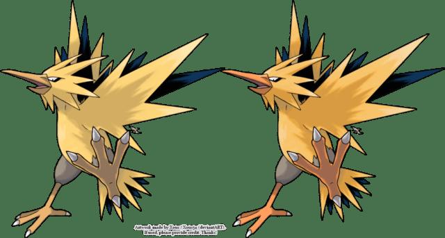 Shiny-vs-non-shiny-zapdos