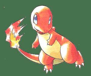 Artwork Pokémon Verde/Blu/Rosso/Giallo